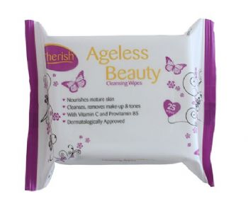 Cherish Ageless Beauty Facial Wipes