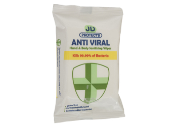 JD Protects Anti Viral Hand and Body Wipes